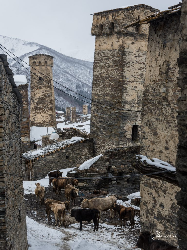 The Towers of Svaneti